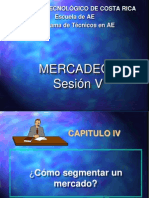 SESION V-enviada 2014_COMO SEGMENTAR UN MERCADO.pptx