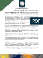 22-02-2012 El Gobernador Guillermo Padrés  acompañado de la secretaria de turismo federal, Gloria Guevara Manzo, firmaron acuerdo nacional de turismo, con el objetivo de promocionar y desarrollar el turismo en los estados a nivel internacional. B0212108