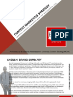 Shenshi Content Marketing Strategy