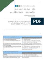 7ª sessão - metodologias de avaliação - MATRIZ MAABE-IGE