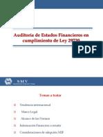 AuditorÃ_a de Estados Financieros en cumplimiento de Ley 29720.ppt