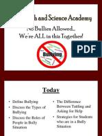 anti-bully student presentation