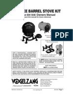 Vogel Zang Stove Kit Bk 150 e