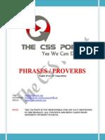 Phrases Proverbs