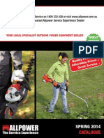 allpower spring 2014 catalogue