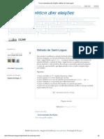 Teoria matemática das eleições_ Método de Saint-Lague_.pdf