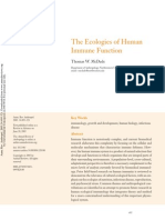 Antropología Ecologica_The Ecologies of human immune function.pdf