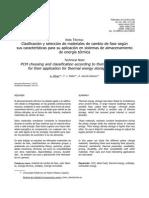 Clasificación y selección de materiales de cambio de fase según.pdf