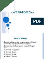 C++ Operator Bilangan