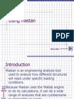 Using Mastan