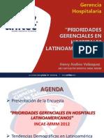 Los Hospitales en Centroamerica INCAE-MMM 2012
