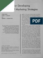 1C Guidelines for Developing International Marketing Strategies
