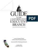 Guide to the CA State Executive Branch