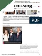 27-09-14 Miguel Ángel Mancera plantea combatir la desigualdad