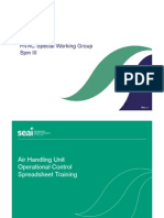 AHU Operational Control Spreadsheet Training Doc