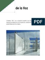 Avance de Rafael de La Hoz