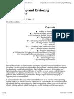 2.0-Backing Up and Restoring ProcessMaker