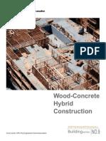 Wood Concrete Hybrid Construction