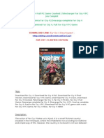 Far Cry 4 Full Game PC Download Free (Far Cry 4 Downloader)