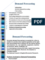 Demand Forecasting ME
