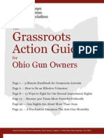 Grassroots Action Guide for Gun Owners