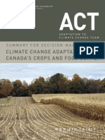 Adaptation to Climate Change, Food Systems (2014)