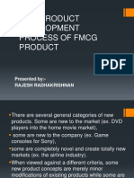 New Product Development Process of Fmcg Product