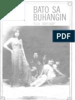 Ernani Cuenco - Bato Sa Buhangin