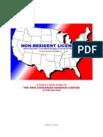 Non Resident CCW Licenses