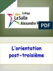 l'orientation post-troisième 2014.pptx