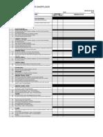 5S Audit Checklist - Shopfloor
