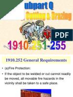 OSHA 511 Welding Sub Q