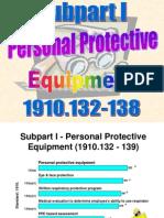 OSHA 511 Sub I PPE