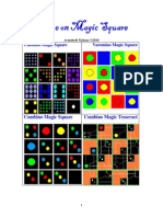 Dialogue on Magic Square