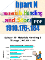 OSHA 511 Subpart N Materials Handling