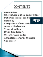Super Critical Power Plant