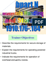 OSHA Subpart N Materials Handling