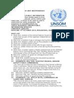 UN Guard Unit Independece Celebrations1