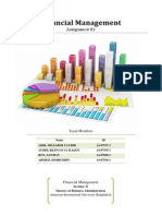 Financial Management-Stock Valuation & FSA