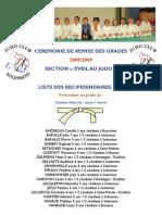 Grades Baby-Judo 2009 Solesmes