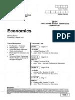 2014 Economics Catholic Trial