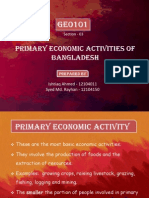 GEO101 - Primary Activities of Bangladesh (Sec - 02)