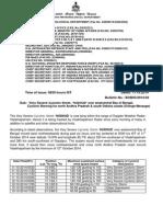 Severe Cyclonic Storm HUDHUD Bulletin 11-10-2014