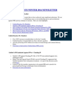 Unified Patents Winter 2014 Newsletter