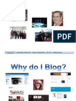 Why do I blog?