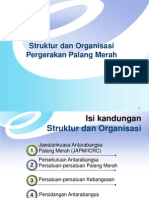 Struktur Dan Organisasi Pergerakan Palang Merah