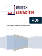 Industrial Automation Training Bangalore