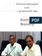 °Immunoterapia con P. Banerji