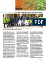 IITA Youth Agripreneurs Newsletter Special Issue - October 2014