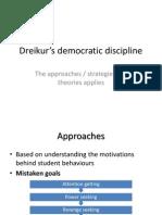 Dreikur's Democratic Discipline
